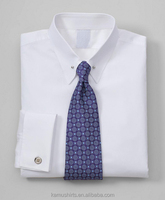 Mens Pin Collar White Dress Shirts French Cuff Mens Shirts