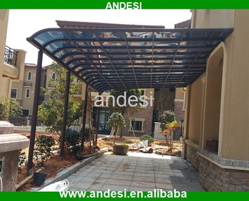 polycarbonate rain protect porch canopy & Polycarbonate Rain Protect Porch Canopy - Buy Polycarbonate Porch ...