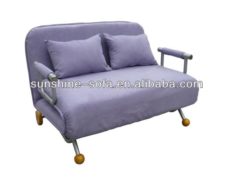 muebles finos de luz azul microfibra funda de sofá cama de muebles ...