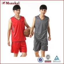 Polyester cheap price reversible basketball jersey best basketball uniform design