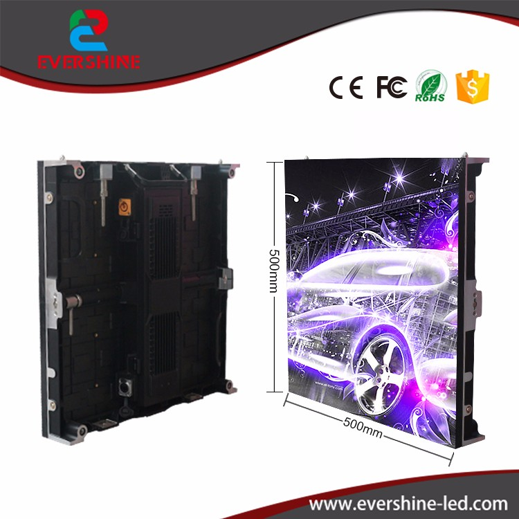 P5.95 rgb die casting outdoor rental led display movies video LED panel 3m*2m for wedding backdrop