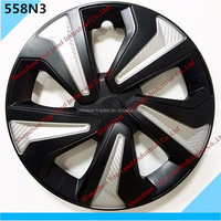 New Painting Car Rim Covers Plastic ABS / PP Twin Color Car Wheel Hub Caps For Car Using