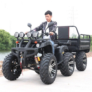 150cc 200cc cvt cheap cargo farm quad atv with roof windshield for sale