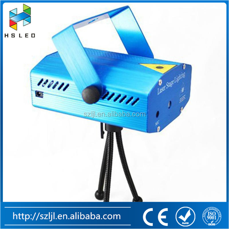 Led Star Effect Stage Lighting Mini Stage Laser Light Auto/Sound Control