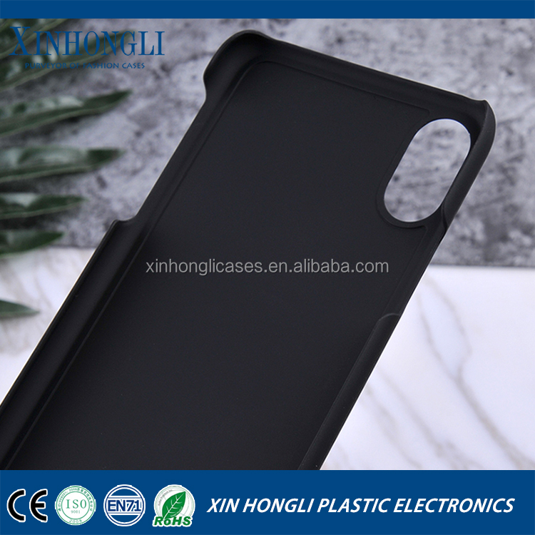 2017 new products pc groove case with rubbery oil for iphone 8