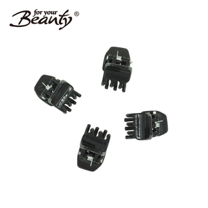 Butterfly Plastic Hair Claw Salon Clip Clamps Hair Accessories Black Color