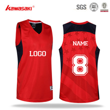 New Style Best Design Custom Logo Name Basketball Jersey Uniform