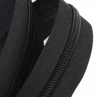 Factory wholesale 5# black color nylon zipper