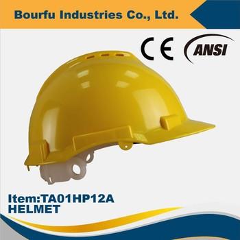 799e53979da7f Personal de Seguridad CE EN397 Orificios de Ventilación de Seguridad Cascos