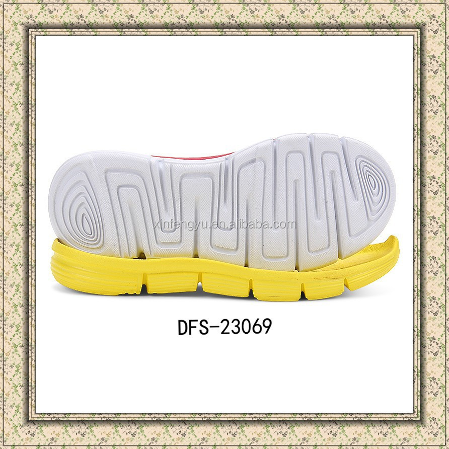 2016 New china products lightweight EVA soles for shoe making
