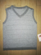 cheap sales US$2.5 100% cotton lurex knit kids baby school sweater vests