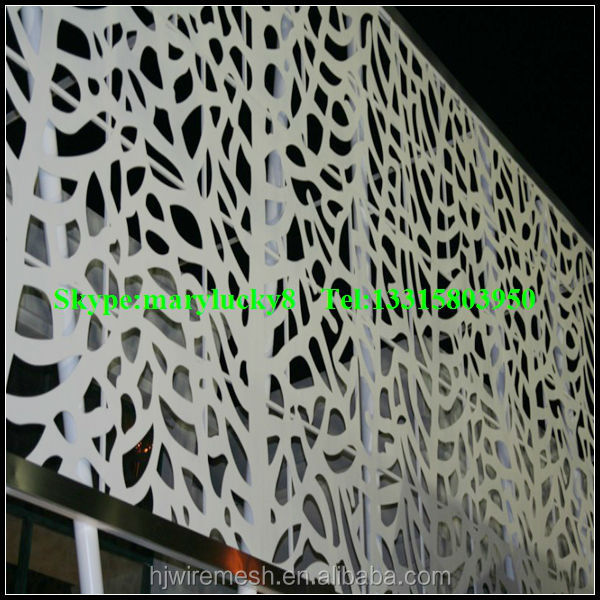 Aluminum Composite Perforated Panel Perforated Metal