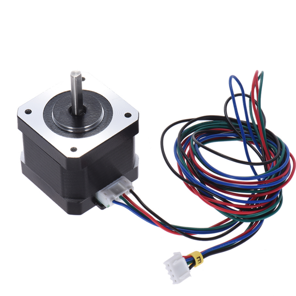 Stepper Motor Kit 12v 24v Nema 17 For Anet 3d Printer A2 A6 A8 A3 4 Wire Wiring Harness