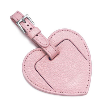 Factory Heart Shape Luggage Tag,Good Quality Leather Luggage Tags ...