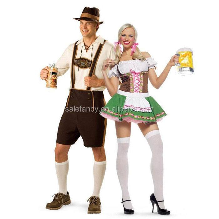 German Bavarian Oktoberfest Beer Festival Fantasia Dree Grupo Traje