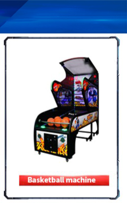 kids coin operated game machine ball shooting game machine  redemption game machine