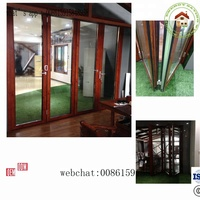 aluminum bifold door for house ,showroom, office