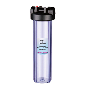 Plastic Clear Whole House High Pressure Water Filter Housing