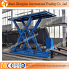 CE Approved 6m lift height portable hydraulic scissor car lift elevator for garage