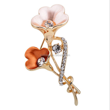 Wholesale Yiwu Cheap Fancy Girls Flower Brooch