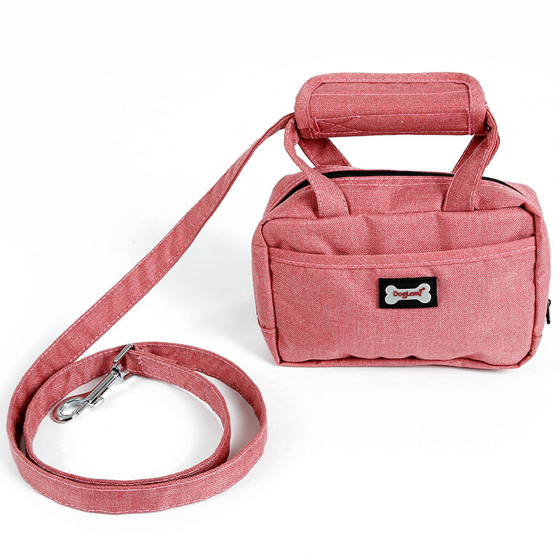 2018 New Dog Walking Leash Bag <strong>Pet</strong> Treat Tote