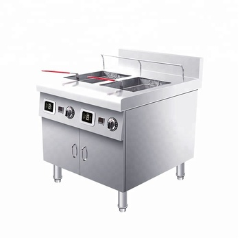 Kitchen Equipment Professional Commercial Induction Deep Fryer Industrial