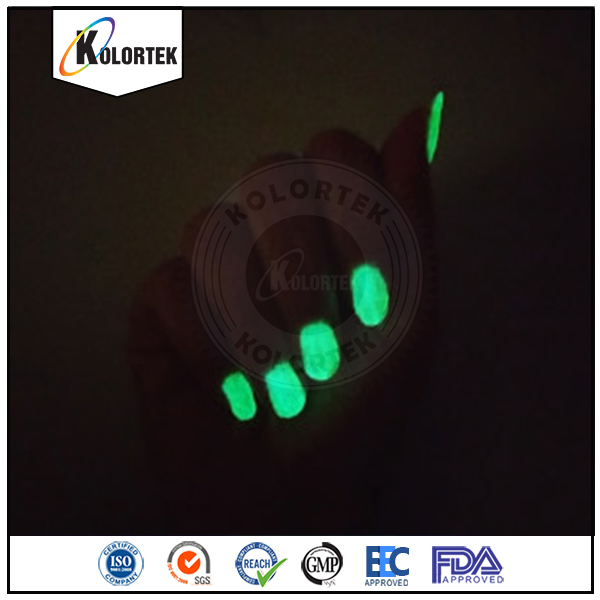 Nail glow powder night glow pigments, Photo luminescent powder china supplier