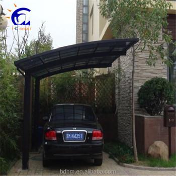 car parking shelters modern design powder coated aluminium double carport with polycarbonate sheet