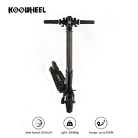 Koowheel E1 buy electric scooter black self balancing bike
