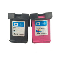 China golden supplier remanufacture ink jet printer parts ink cartridge for 63 ink cartridge