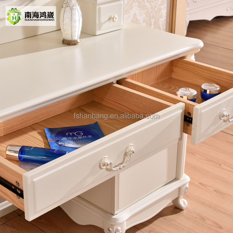 modernen europ ischen pastoralen stil wei lackiert holz. Black Bedroom Furniture Sets. Home Design Ideas