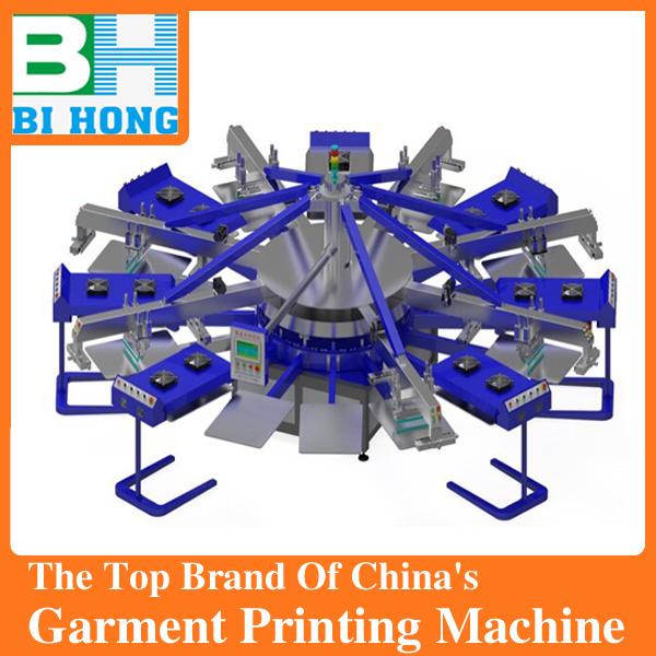 Ce certification manual 6 color t shirt screen printing for Screen printing machine for t shirts for sale