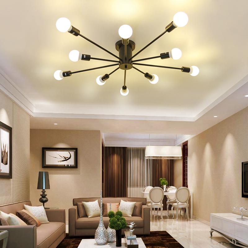 Venta al por mayor lampara techo retro-Compre online los mejores ...