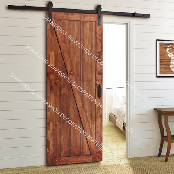 European style interior sliding barn door