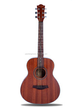 Martin Lee High Quality 36 inch Sapele Acoustic Guitar