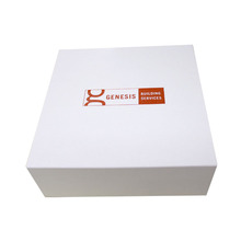 Custom Paper Cardboard White Magnetic Closure Collapsible Gift Box Packaging
