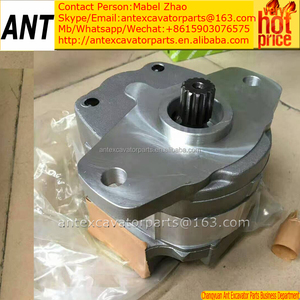 cooling fan drive motor hydraulic gear pump 705-21-26050 for loader wa1200 wa900-3 pc1250-7 pc1100