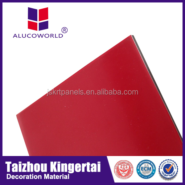 Alucoworld innovative building sign board materials travel trailer paneling