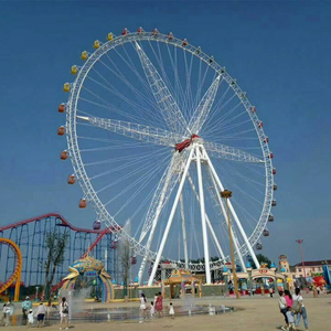 Amusement Park Equipment 65m Height Sightseeing Giant Ferris Wheel for Theme Park