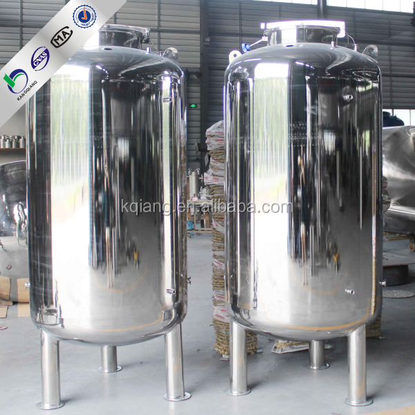 1000 litre stainless steel water tank tank water storage for Plastic hot water tank