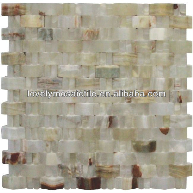 Natural Arched Stone Mosaic Tile for House Decoration Wall Tiles