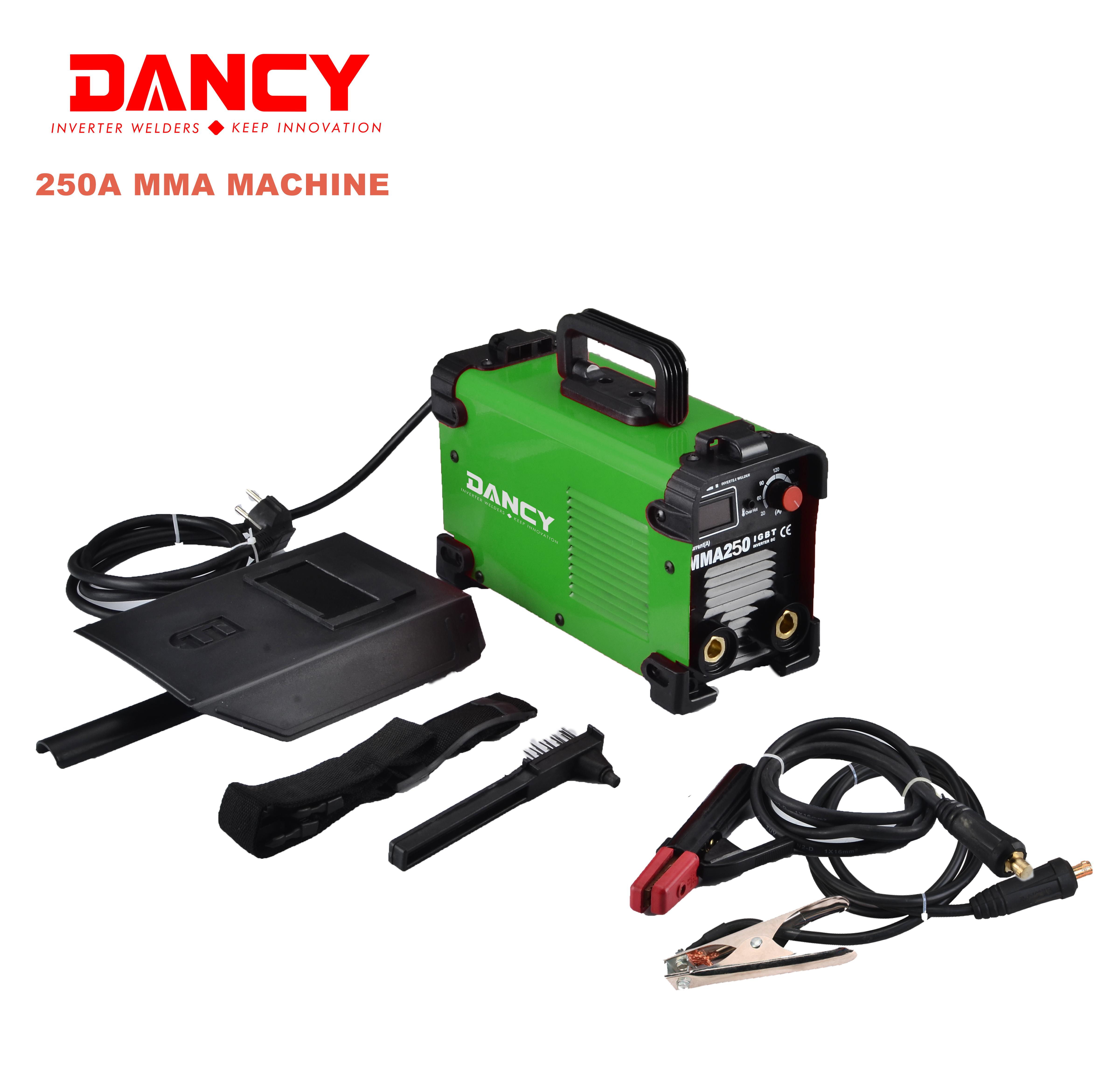 Factory price mma 250A arc welding inverter chinese welding machine