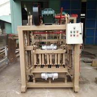 Morocco Cheap And Small Hollow Block Making Machine For Home Plan