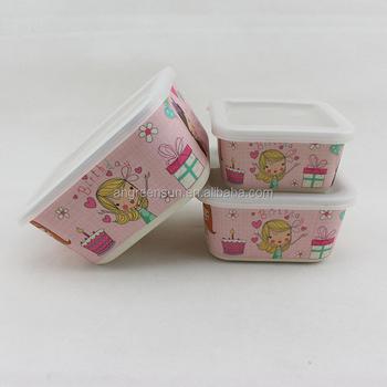 Wheat Straw Fibre Oem Biodegradable Potluck Lunchbox Bento Lunch Box