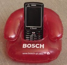 inflatable mobile phone holder/sofa holder