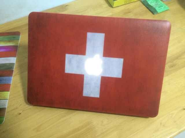 Custom Designer Country Flag Plastic Hard Shell Case Protective Cover For Macbook Air Retina Pro 11 13 15 1706 1708