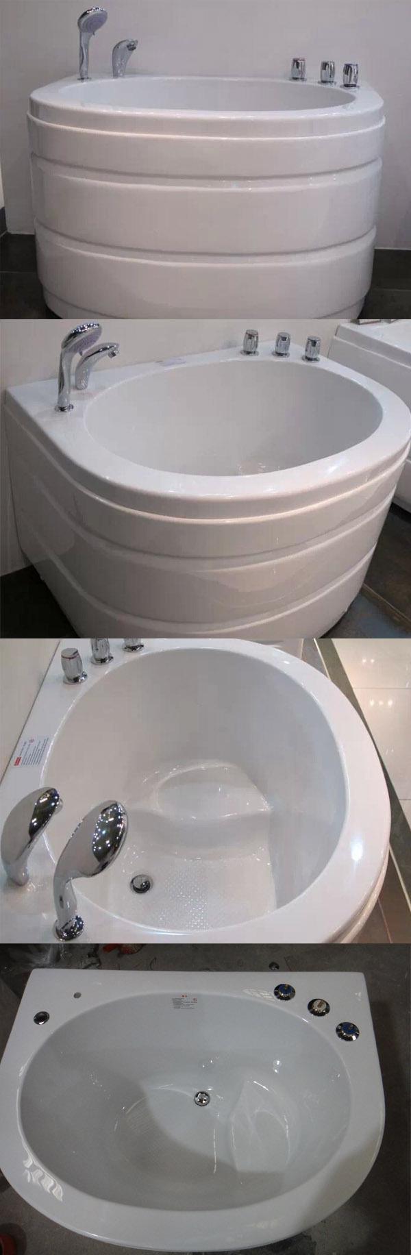 Hs-b02 Small Sitting Bathtub/ Child Size Bath Tub/ Children Bathtubs ...