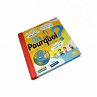 English learning hardcover kids reading boardbook safe kids board book