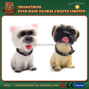 Wacky custom resin animal antique dashboard bobblehead for car