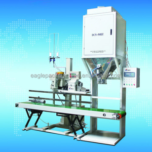 henna powder hdpe granule packing machine and containerized mobile weighing and bagging unit